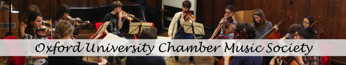 OUCMS – Oxford University Chamber Music Society